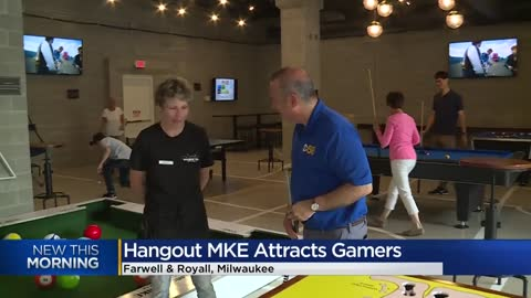 Hangout MKE offers fun and games on Milwaukee's East Side
